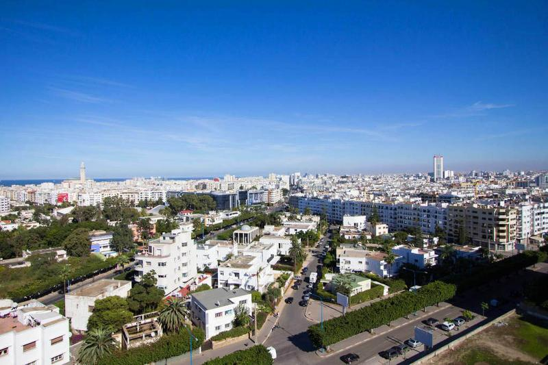 Vue panoramique depuis le Studio / Panoramic View on Urban Casablanca