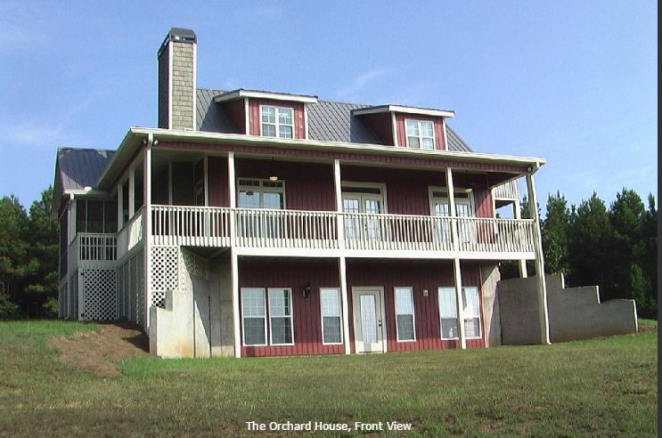 The Orchard House, holiday rental in Wedowee