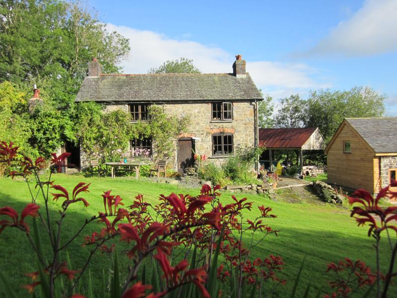 The Farmhouse enjoying the sunshine