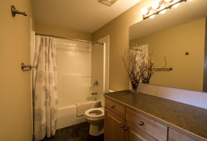 Beautifully decorated, spacious bathrooms