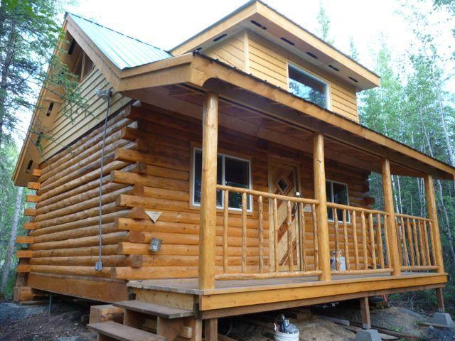 Aurora Forest Cabin in the Summer