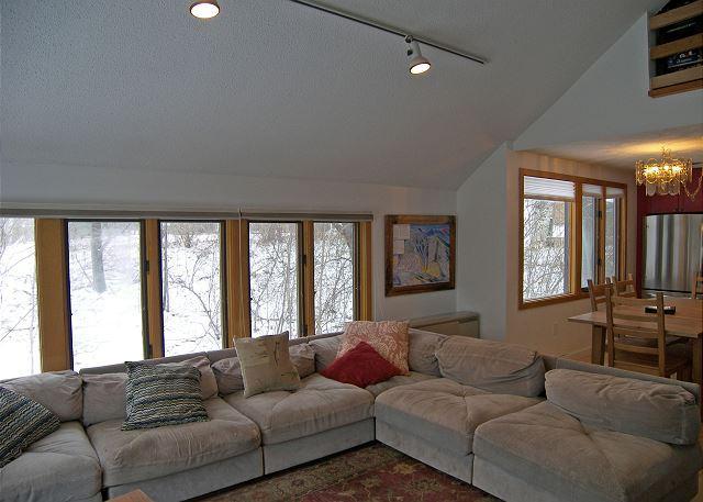 Living Area Wrap-around Sofa