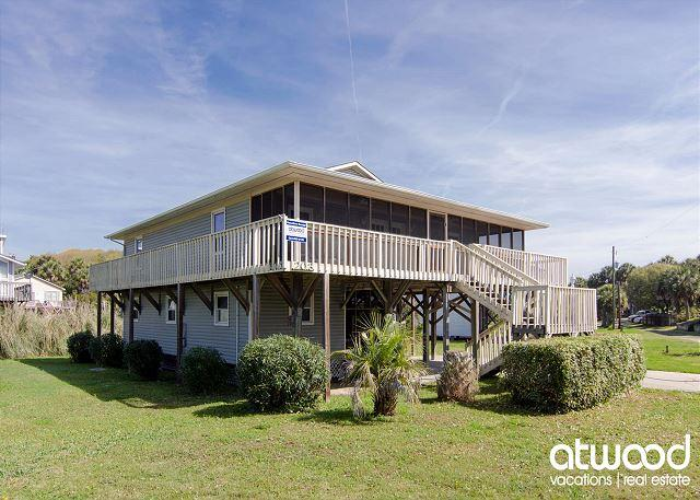 Sea Grass - Easy Beach Access, Screened Porch, Ocean View, holiday rental in Edisto Island