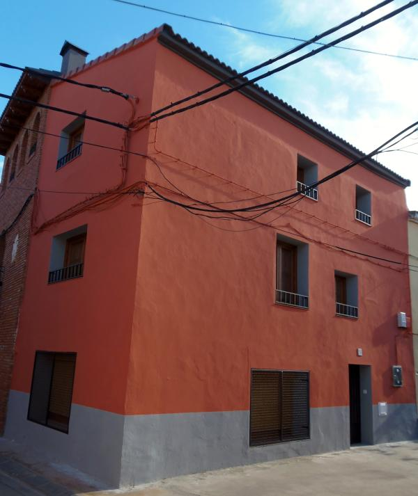 FACHADA DE CASA RURAL HOSPITAL DEL TEMPLE