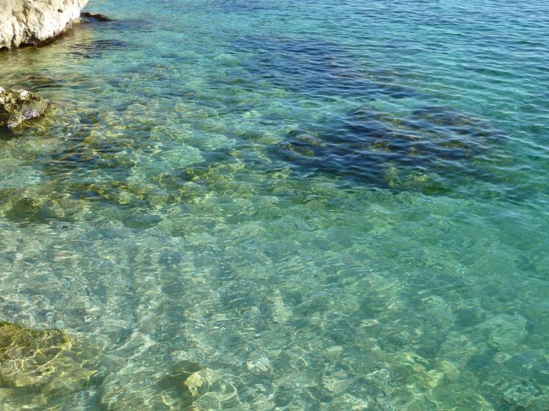 Dubrovnik Banje beach - sea