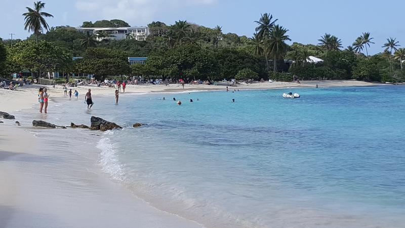 Sapphire Beach-So beautiful clear blue!