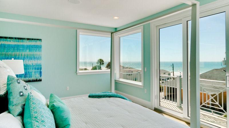 Amazing views from the Master Bedroom