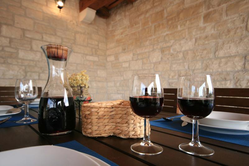 Always good wine on table - Babic