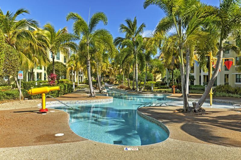 Tropical Penthouse Condo w/ Waterpark in Loiza, PR, alquiler vacacional en Canovanas