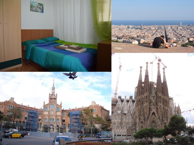 location appart Barceloneta Confortable chambre