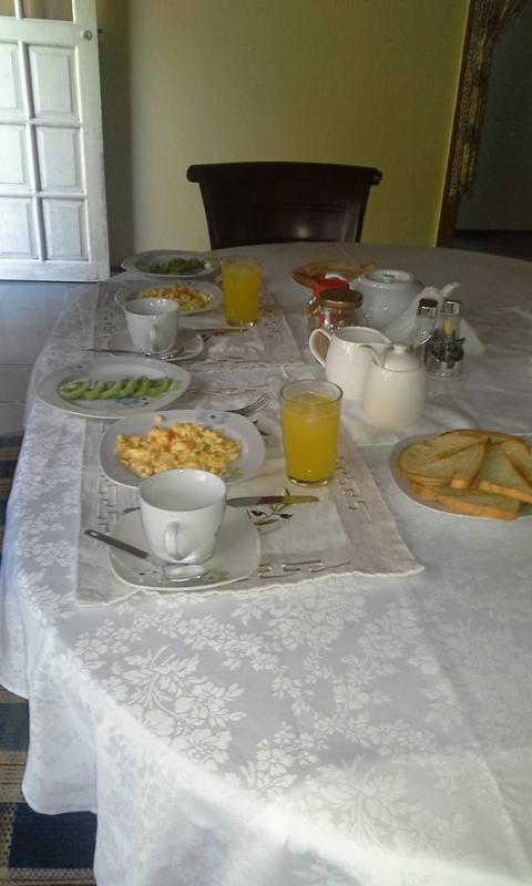 Breakfast at Posada Spring View