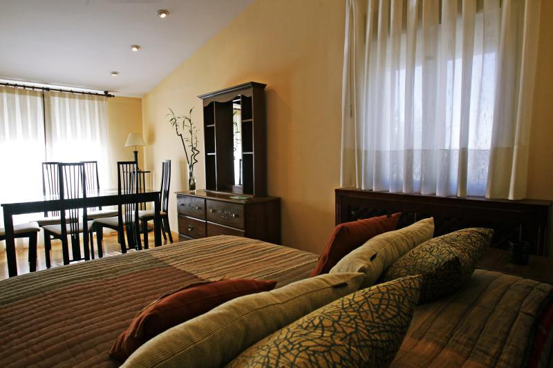 Casablanca: Apartamento superior, holiday rental in Encinas de Abajo