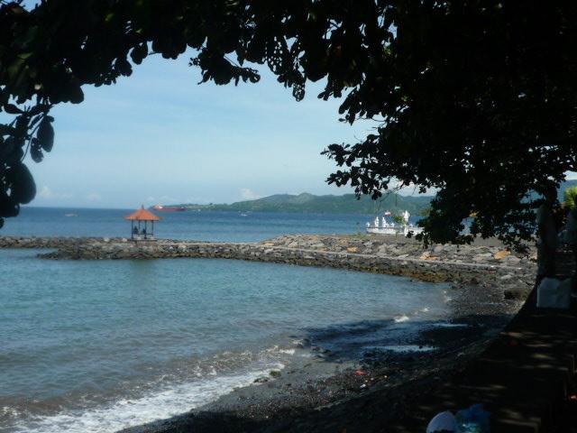 Local beach near bungalow