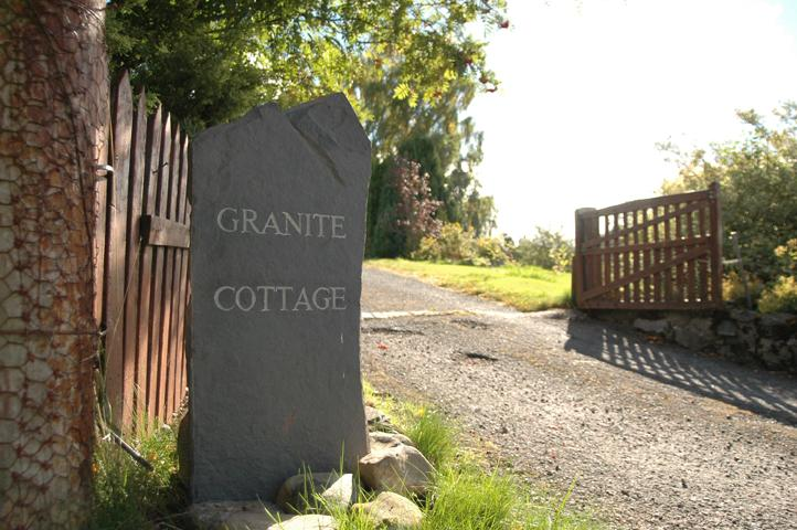 The Entrance to Granite Cottage