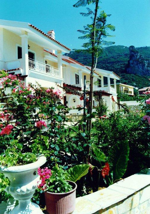 balconies of the Villa Maisonette