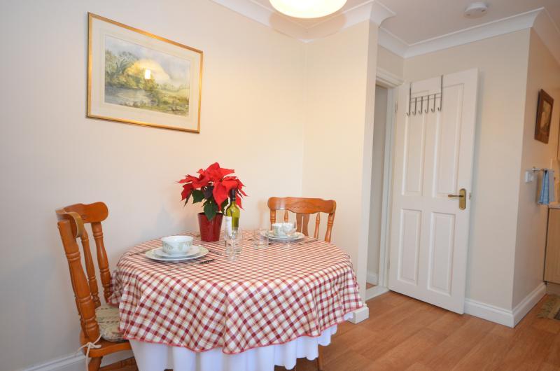 Kitchen/diner. Door to bathroom & utility area