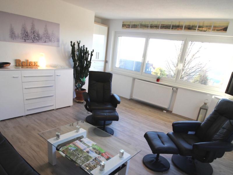 Wohnzimmer mit Massagesessel