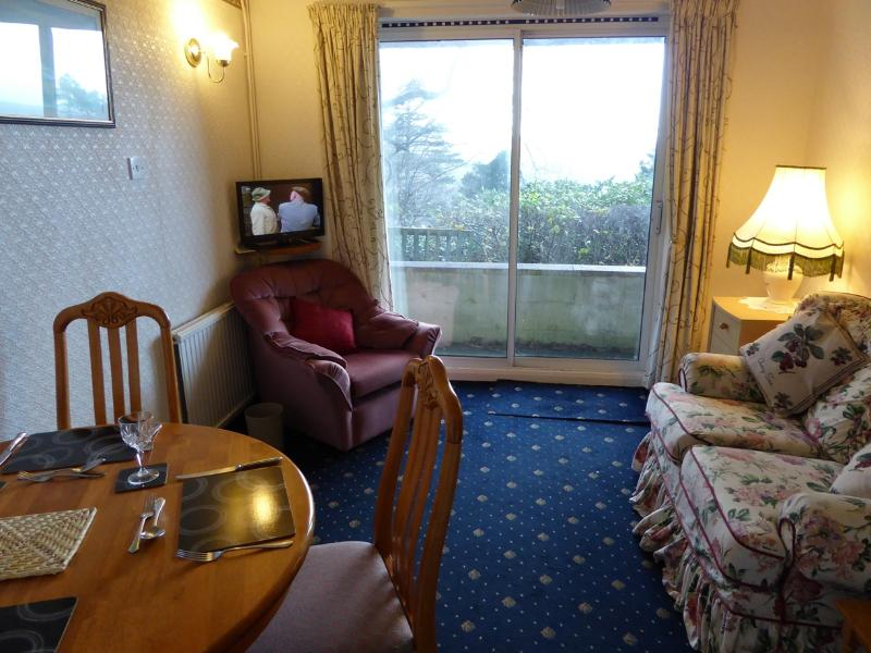 Deganwy cottage lounge with freeview TV