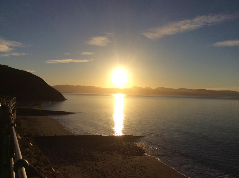 Sunrise Criccieth