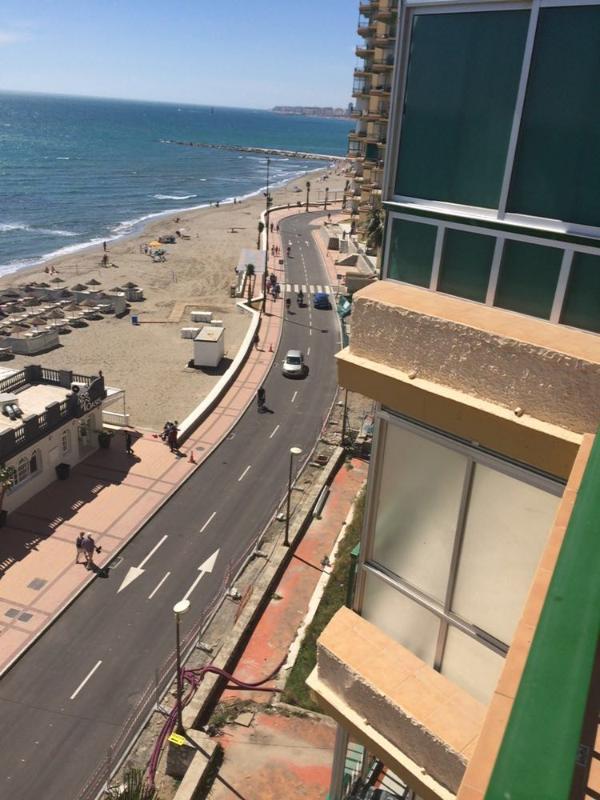 Paseo Marítimo y Playa vista desde la terraza.