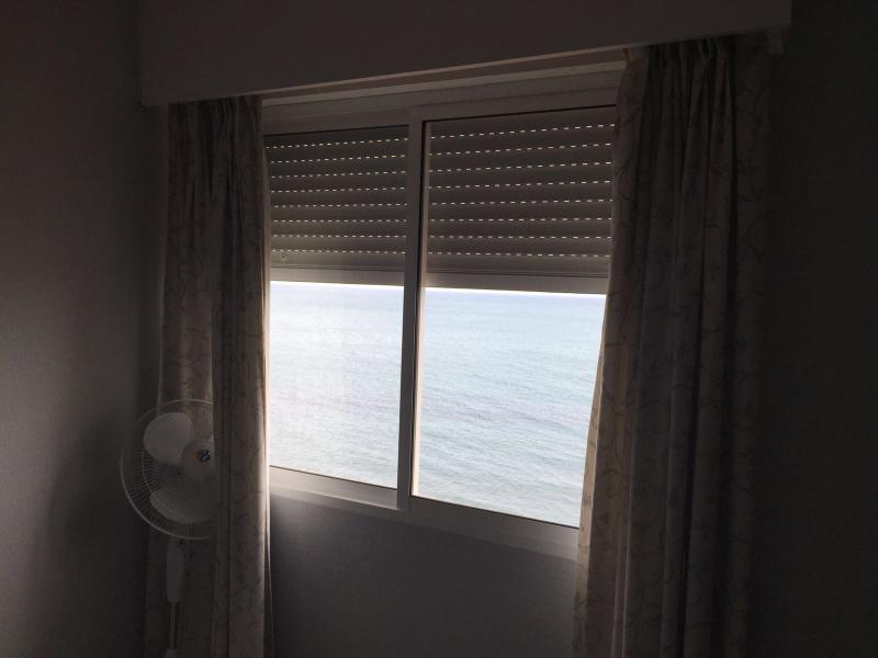 Vistas al mar desde la habitación.