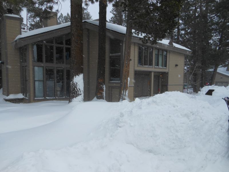 Front of the unit winter season