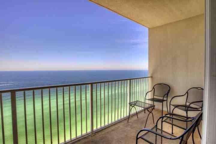 Balcone privato con una splendida vista sul golfo del Messico
