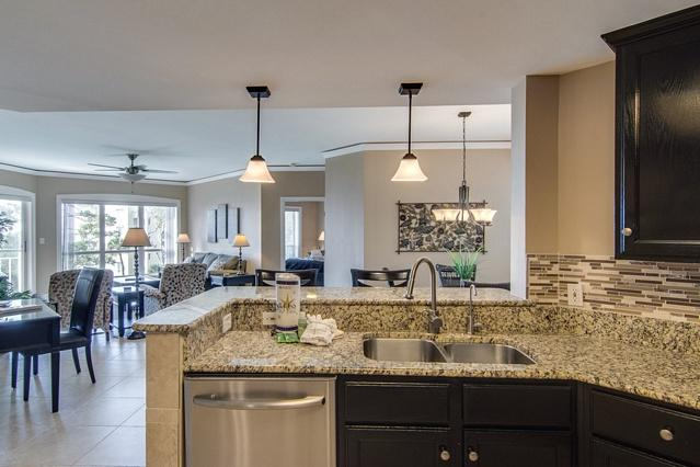 Open Kitchen is Perfect for Fun and Entertaining