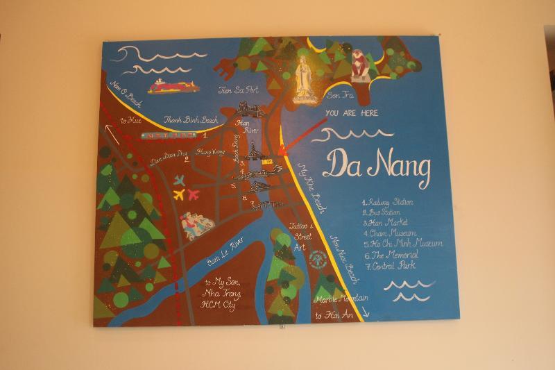 Da Nang Map