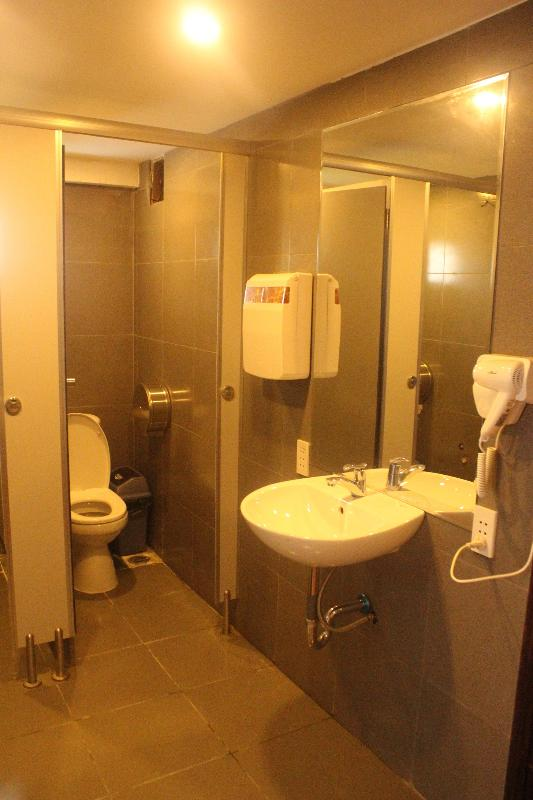 A shared restroom in Female Dorm