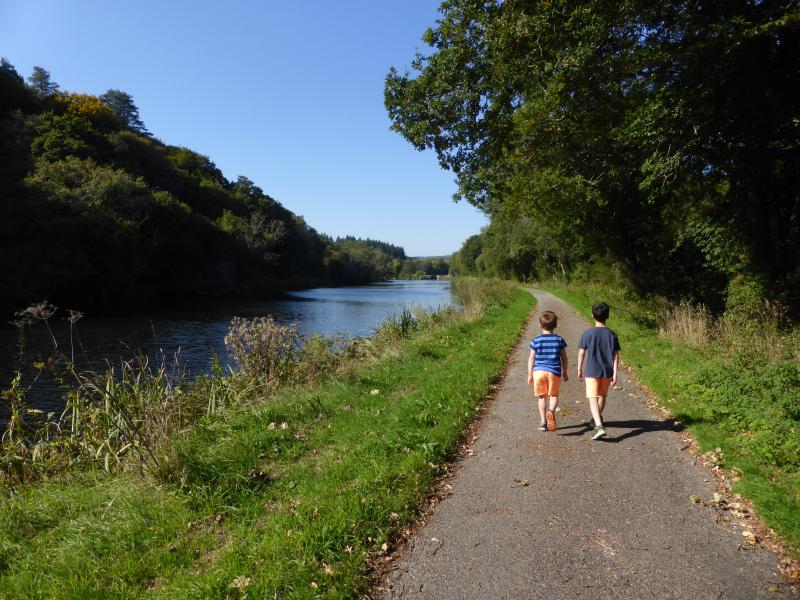 A midsummer's stroll along the river...