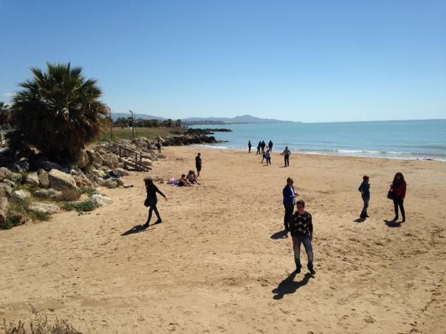 Spiaggia di fronte il b&b