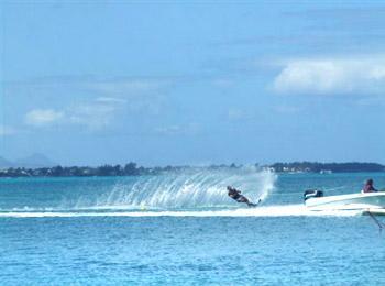 4 min drive to one of the best water sport in Mauritius