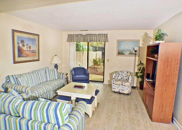 Courtside 46 - Forest Beach 1st Floor Flat, vacation rental in Hilton Head