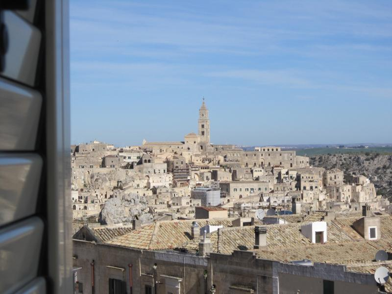 view of SASSI from bedroom's window