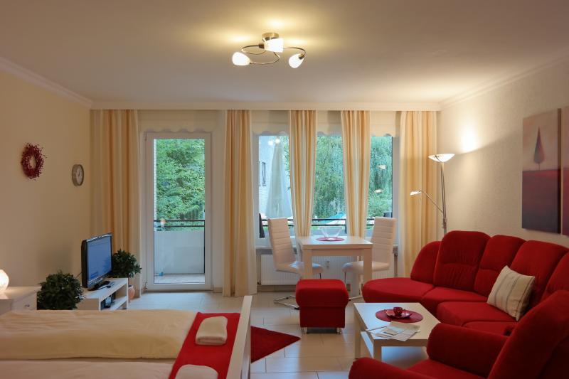 1-Zimmer Komfort-Apartment Wohn-Schlafraum