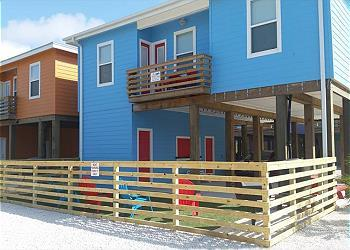 Stilt home with lots of parking and out door space.