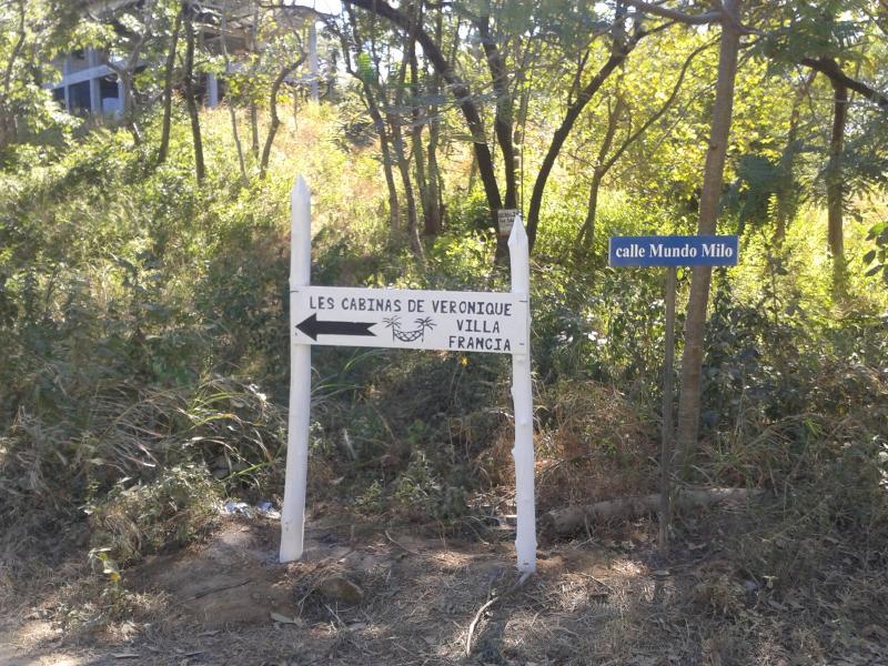 pour nous trouver, suivez les panneaux depuis santa cruz