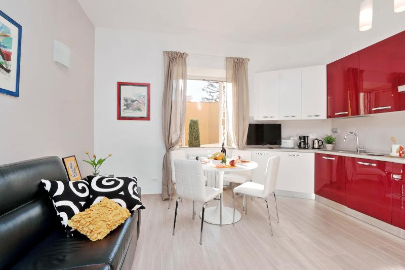 Rome Vacation Rentals Tasso - Living room / Kitchen
