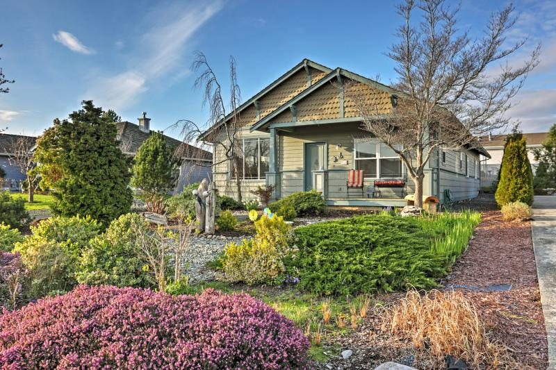 Have an unforgettable retreat at this  Birch Bay vacation rental home!
