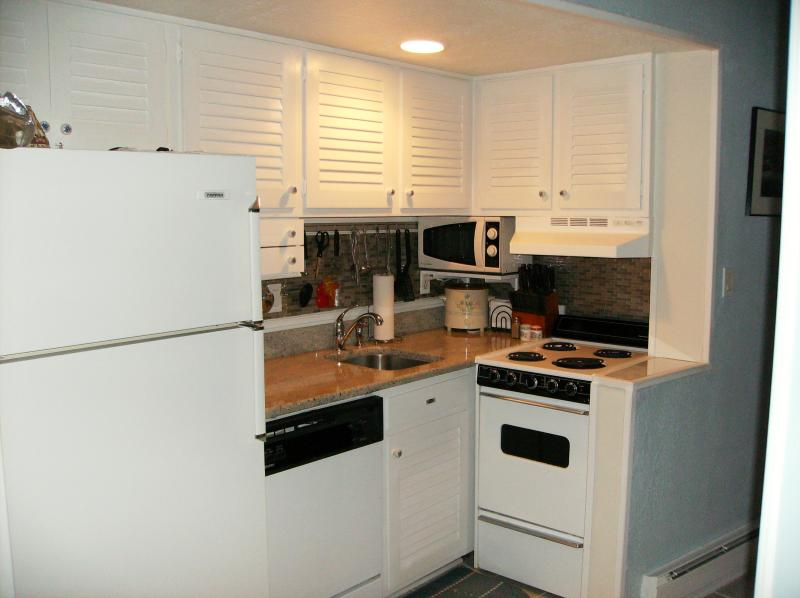 Expanded view of kitchen