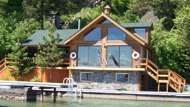 Boathouse, lake view