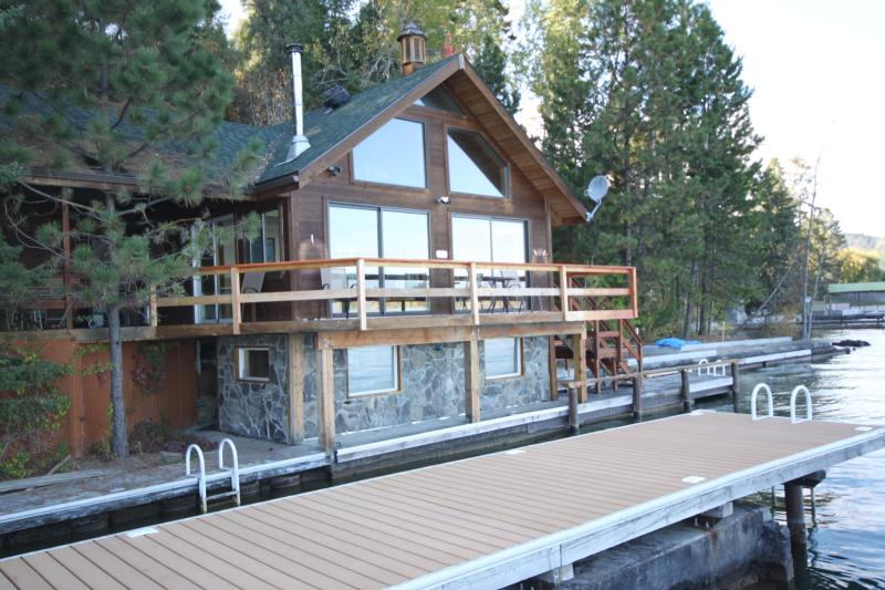 New Deck added to boathouse in 2015