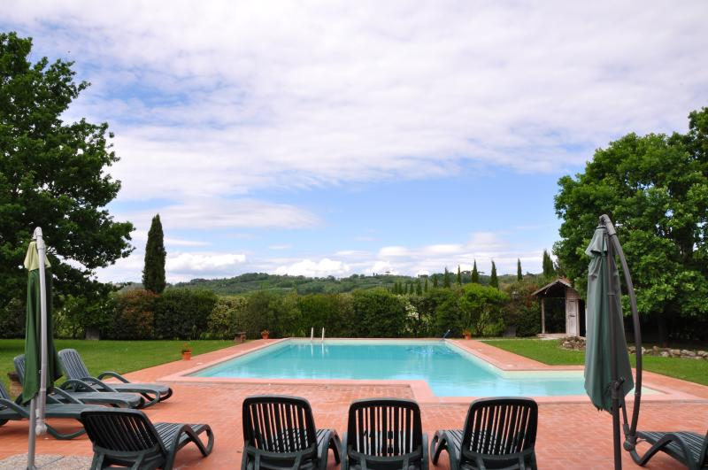 Appartamento Limonaia: relax in Tuscany, vacation rental in Ponsacco