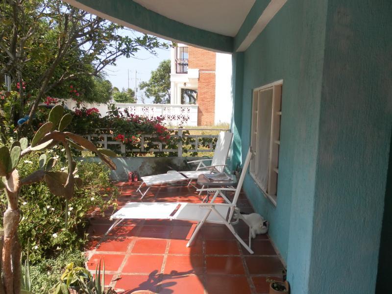 Terraza del jardín