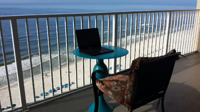OFFICE @ MORNING; PLAY IN THE SAND ALL AFTERNOON!