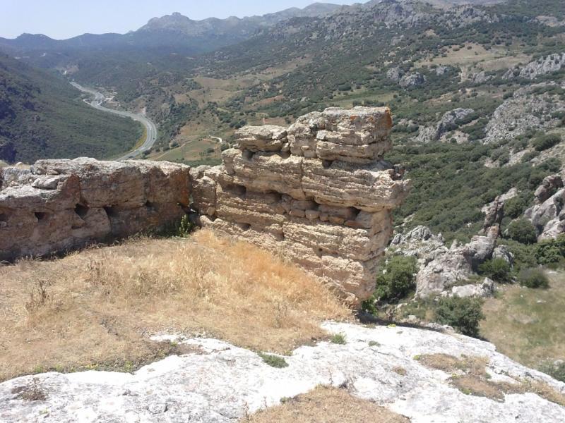 Vista desde el castillo de Peña cabrera