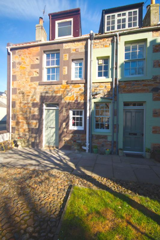 Set over three storeys, the cottage has lots of traditional charm