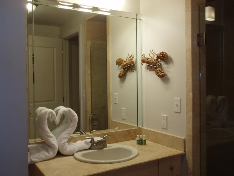 Master Bedroom Bathroom - has both a shower and garden tub