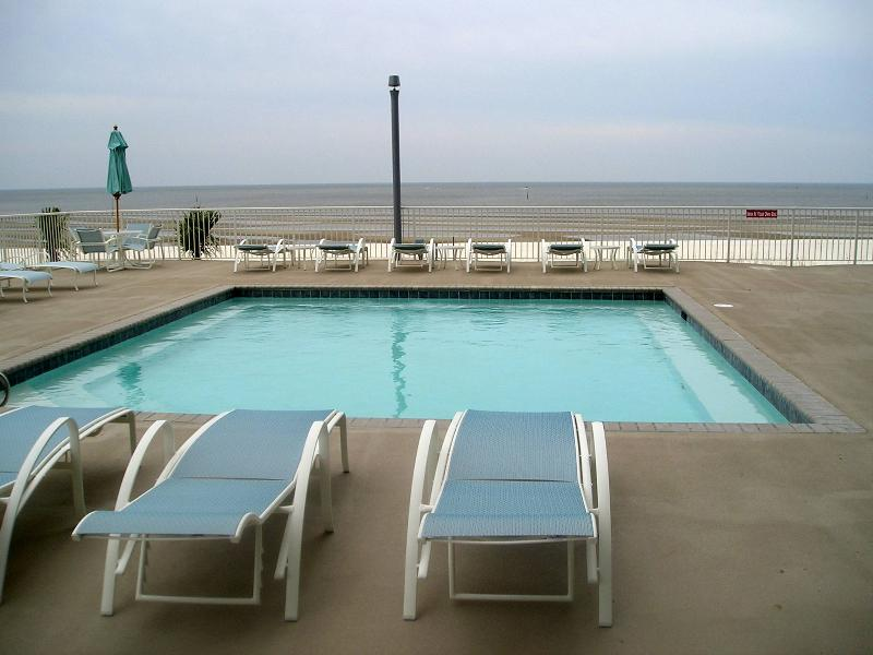One of our 2 pools overlooking the Gulf - 2nd pool heated during the winter